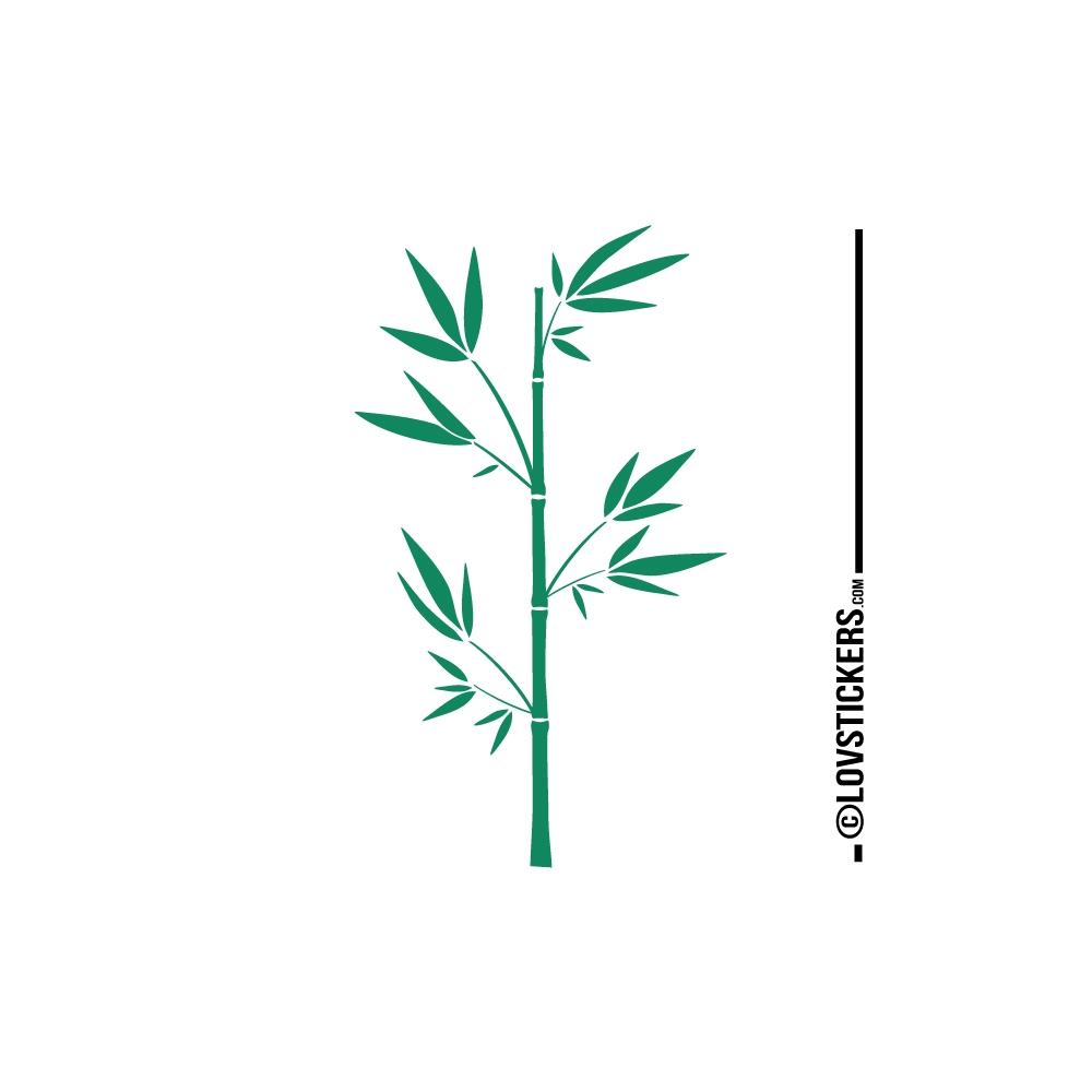 Bambou Stickersjaponais