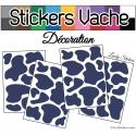 Stickers Peau de Vache - Serie Autocollant Deco Animaux