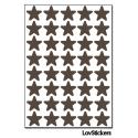 320 Etoiles 1,3cm - Gommette Triangle Deco Repositionnable en Vinyle