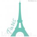 Sticker Tour Eiffel - PARIS - Décoration intérieur en Vinyle - Nombreux coloris