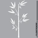 Sticker BAMBOU 02 - Décoration intérieur en Vinyle - Nombreux coloris