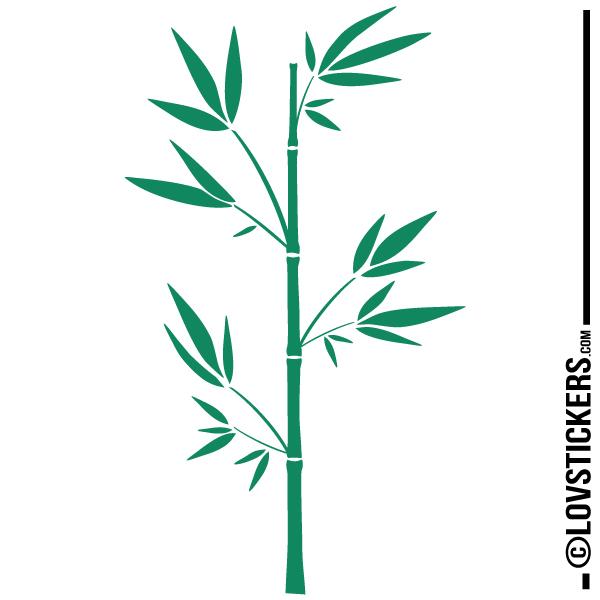 Stickers Bambou - Esprit zen japonais