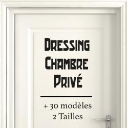 Sticker Porte pour la Maison - Typographie 03