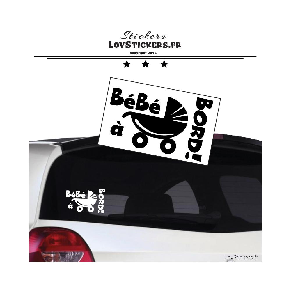 Bébé à Bord Sécurité Enfant Autocollant Voiture Véhicule Panneau Enfant à Bord
