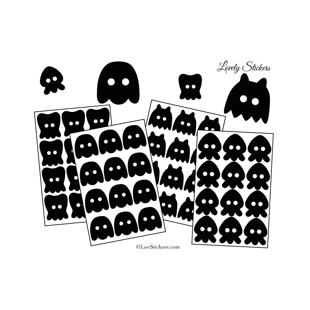 48 Monstres Gentils 3 à 5 cm - Serie 01