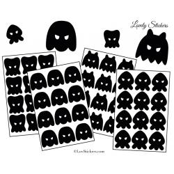 48 Monstres Méchants 3 à 5 cm - Serie 01