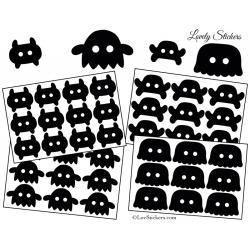 39 Monstres Gentils 3 à 5 cm - Serie 02