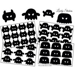 39 Monstres Méchants 3 à 5 cm - Serie 02