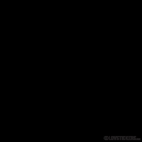 A-Z Lettres et chiffres Iron On Transfers Lettres Blanc 35 mm symboles