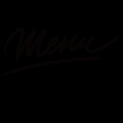 Autocollant menu restaurant