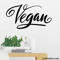 Stickers recette Vegan