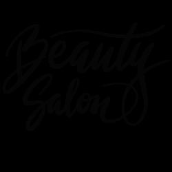 Stickers Salon de Beauté