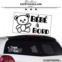 Sticker Bébé à Bord
