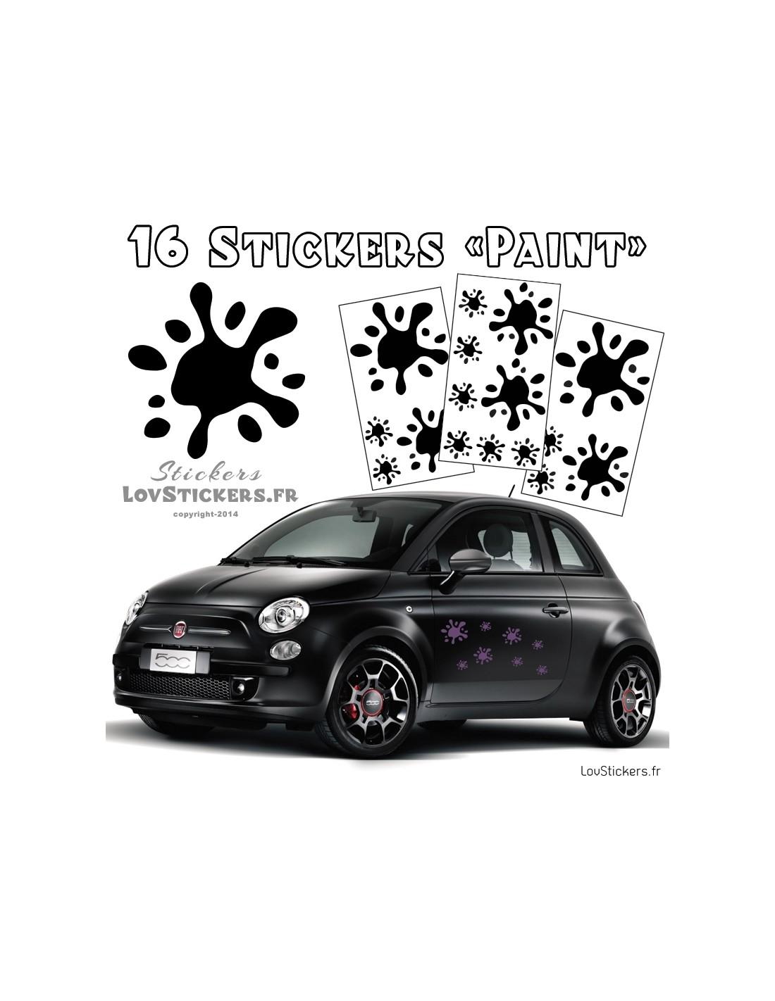 Stickers autocollant pour voiture for 16 box auto