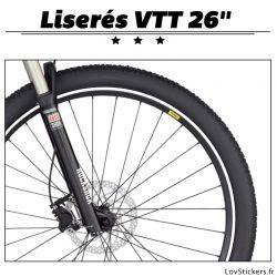 Liseret pour VTT - Kit de liseret pour la décoration des roues de VTT.