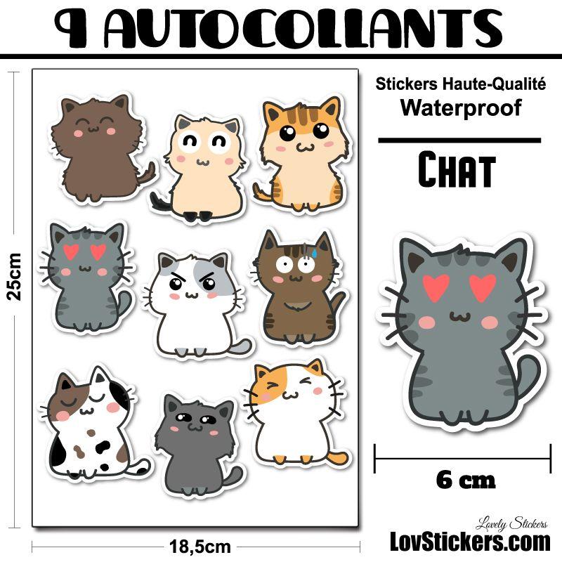 9 stickers de chats 02