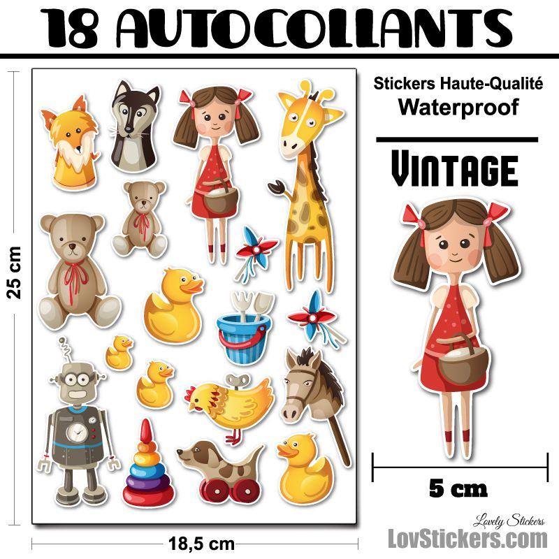 Kit Vintage décoration pour enfants