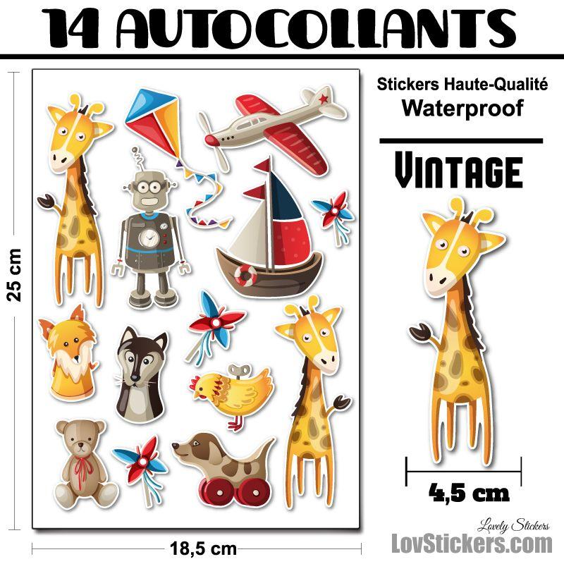 Kit Vintage 02 décoration pour enfants