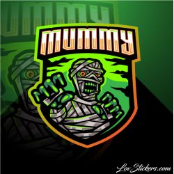 4 Stickers eSport Muumy