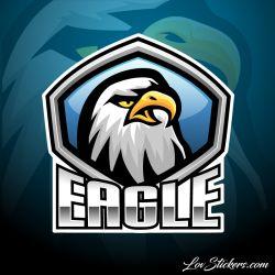 5 Stickers eSport Logo Aigle
