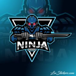 6 Stickers eSport Ninja