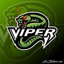 8 Stickers eSport Viper