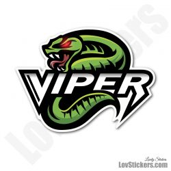 8 Stickers eSport Viper