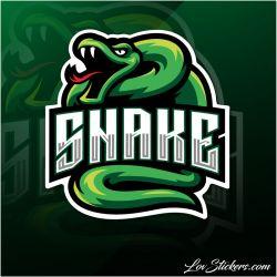 4 Stickers eSport Serpent
