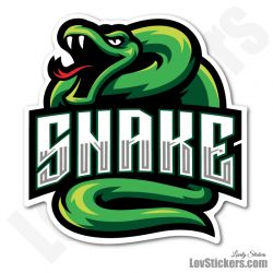 4 Stickers eSport Serpent