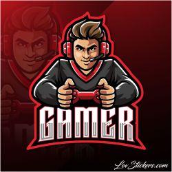 4 Stickers eSport Gamer