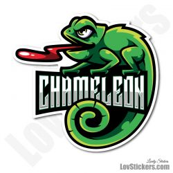 4 Stickers eSport Cameleon