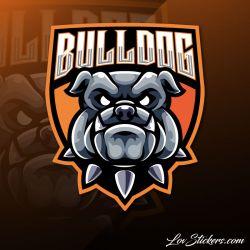 6 Stickers eSport Bulldog