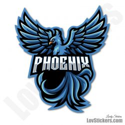 4 Stickers eSport Phoenix