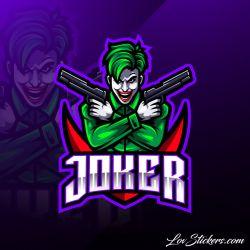 4 Stickers eSport Joker
