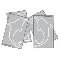Stickers pour auto de dauphin