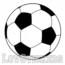 Stickers Ballon de Football