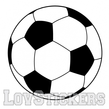 Stickers Ballon de Football