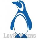 Stickers Pingouin - Animal decoration chambre enfant garcon fille bébé en Vinyle