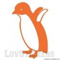 Stickers d'un Bébé Pingouin - Décoration intérieur en Vinyle - Nombreux coloris