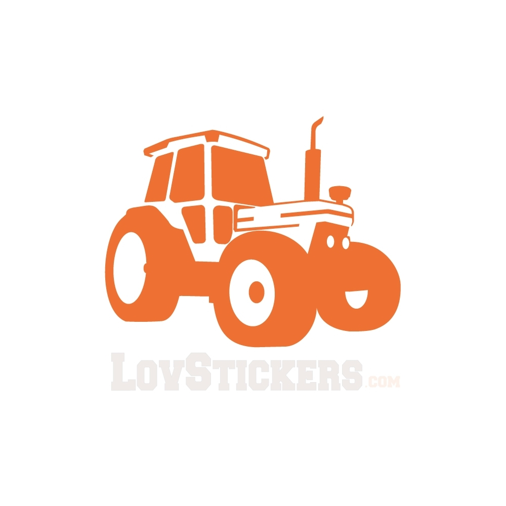 Stickers tracteur. Idéal pour chambre enfant ou pour les passionnés des tracteurs.