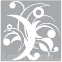 Stickers Tribal Abstrait - Fleur - Décoration intérieur en Vinyle - Nombreux coloris