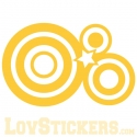 Sticker Formes - Abstrait - Décoration intérieur en Vinyle - Nombreux coloris