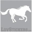 Sticker Cheval - Décoration intérieur en Vinyle - Nombreux coloris