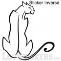 Sticker Panthère Design - Décoration intérieur en Vinyle - Nombreux coloris
