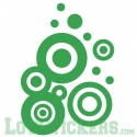 Sticker Forme Originale Design - Décoration intérieur en Vinyle - Nombreux coloris