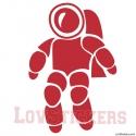 Stickers Astronaute - Décoration intérieur en Vinyle - Nombreux coloris