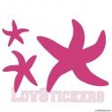 Stickers Etoiles de mer - Décoration intérieur en Vinyle - Nombreux coloris