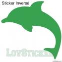 Stickers Dauphin - Décoration intérieur en Vinyle - Nombreux coloris