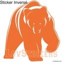 Stickers Ours - Décoration intérieur en Vinyle - Nombreux coloris