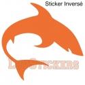 Stickers Requin - Décoration intérieur en Vinyle - Nombreux coloris